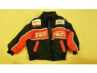Boys Ferrari jacket size 92/approx 2-3 years