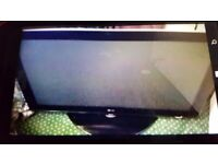 LG Wide-screen 42 inch HD TV plasma. Remote control. Open to offers. Collect today cheap