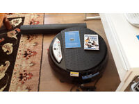 VIBER POWER PLATE WITH DVD AND FLOOR MAT.
