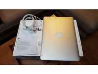"Macbook Pro A1502 2015 256gig ssd 13"" £810"