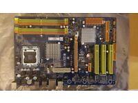 Biostar P43-A7 Version 6.0 PC Motherboard DDR2 USB 2.0 - Socket 775