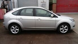 60 PLATE 2010 FORD FOCUS 1.6 PETROL WITH FULL MOT