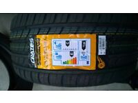 New car tyres pair 255/35/18