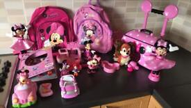 Selection of Minnie Mouse Toys