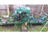 ransomes hydraulic cylinder gang mower spares repair