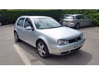 "2004 VW Golf 1.9 Gt Tdi GTD PD 130 bhp 6 speed 17"" alloys high spec fsh 2 former keepers not audi"