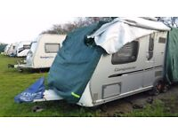 Swift CONQUEROR 630 / 4 - TWIN AXLE - SILVER SIDES