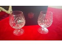 Stuart Crystal brandy glasses