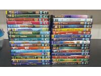 Collection of children's DVD's 50 in total