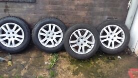 Honda alloy wheels brand new