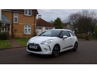 2011 61 CITROEN DS3 1.6 E-HDI DSTYLE 3d 90 BHP, 1 OWNER SINCE NEW, FULL SERVICE RECORD