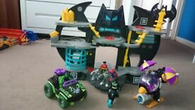 Imaginext batcave and accessories