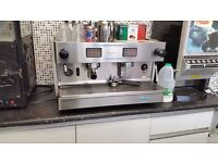 futurmat two group coffee machine for restaurant pub cafe can be seen working