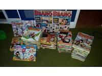 Job lot of beano comics and annuals