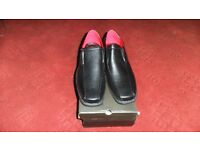 brand new mens black shoes