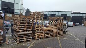 PALLETS FREE, READY TO GET COLLECTED