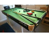 Riley Pool Table 3 x 6 ft