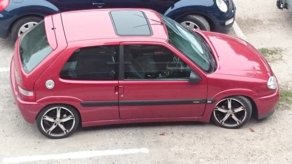 citroen saxo vts 1 6 16v in ekq rouge lucifer with 12 months mot in handsworth west midlands. Black Bedroom Furniture Sets. Home Design Ideas