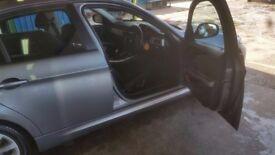 FOR SALE BMW3 SERIES SALOON GREY CAR - I YEAR MOT