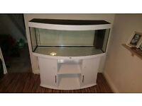 Juwel 450L curved front aquarium immaculate condition