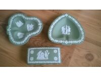 3 Pieces of Wedgewood For Sale