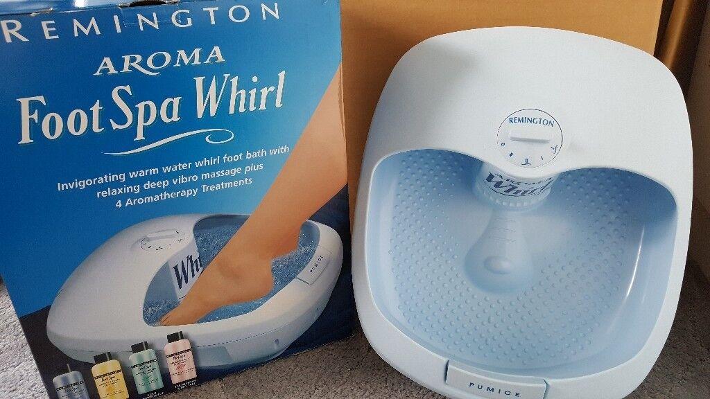Remington Aroma Foot Spa Whirl