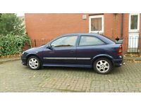 Vauxhall Astra 1.8 16v Sport Limited Edition. May p/x. Corsa.Clio.Civic.Fiesta.Polo.206/207. W.H.Y?