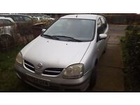 nissan almera tino for sale needs to go fast.