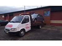 Vehicle recovery collection and delivery!