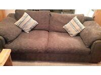 large sofa set - 3 seater & 2 seater