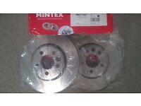 MINTEX Front Brake Discs MG Z-TT OR Rover 75?