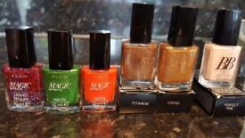 50xnail polish for sale. 33 is AVON, the rest are mixed.All brand new!