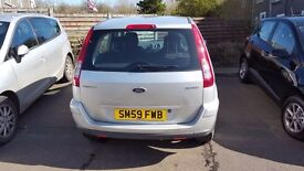 2009 Ford Fusion Zetec Automatic Silver in very good condition and very low 36800 mileage for sale