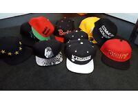 SWAP 26 brand new SNAP BACK HATS HIP HOP BASEBALL CAPS STOCK LEFTOVERS JOBLOT JOB LOT BULK