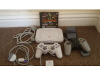 PSOne Playstation Latest Small Version Complete with Everything for Top Retro Gaming Collectable