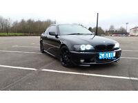 BMW 330Ci M Sport, e46, 2dr, Black, FSH, 3.0, petrol, manual, xenon lights