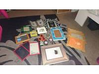 Job lot photo frames