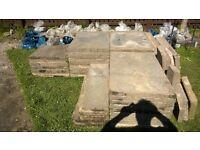 Concrete Council Paving Slabs 900mm x 600mm x 50mm Grey