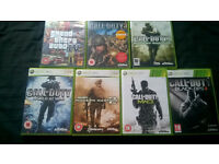 XBOX 360 Call of Duty Bundle and GTA IV