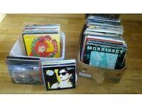 250 x 12 inch vinyl singles rock pop indie morrissey cure manic street preachers beautiful south
