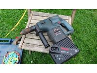 Bosch 24v cordless drill, come with battery, faulty charger is not power on need attention sold for