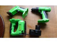 Tooltec 18v Cordless Drill - Jigsaw - Sander