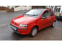 ***RARE FIAT PUNTO**LOW MILEAGE**TINTED WINDOWS***BLACK ROOF**LONG MOT***MUST SEE!!!