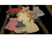 0-3 month dresses