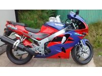 1995 kawasaki zx6r.red/purple.12k miles.Lovely example/original condition.*Must see*