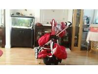 Graco single pushchair with carseat