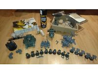 Warhammer 40K Space Marine Army! Complete starter set with paints/glue! Selling due to house move!