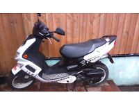 PEUGEOT SPEEDFIGHT 50 2009 with 100cc engine fitted
