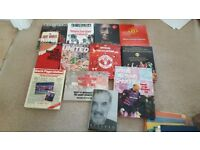 Collection of Manchester United Books