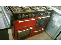Leisure 100cm range cooker dual fuel